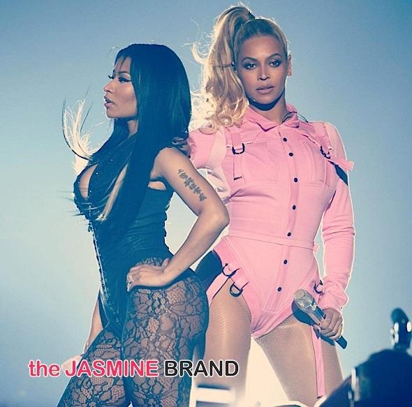 Watch Beyonce's Sweet Ode to Nicki Minaj, 'Darling Nicki' [VIDEO]