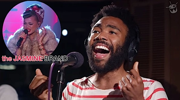 Childish Gambino Covers Tamia's 'So Into You' + Andra Day Performs 'Gold'