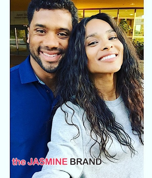 Russell Wilson Is Crazy In Love With Ciara [Photos]
