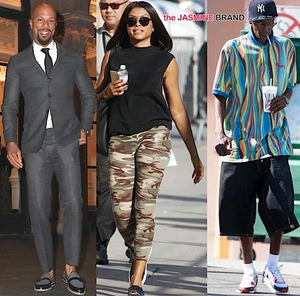 Celebrity Stalking: Common, Taraji P. Henson, Joe Odom, Usher Raymond & Grace Miguel, Mimi Faust & Joseline Hernandez [Photos]