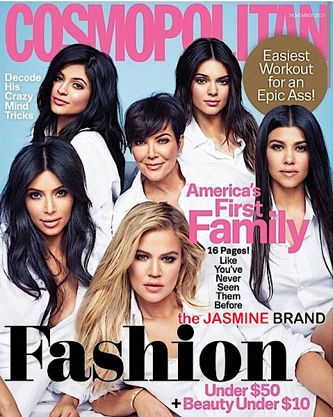 "Cosmo Calls Kardashian & Jenner Girls ""America's First Family"" – Do you agree?!"