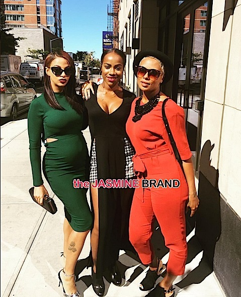 About the Business cast Crystal Renay, Sparkle & Eva