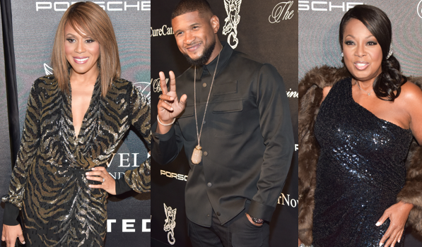Usher, Patti Labelle, Star Jones, Nick Cannon, Deborah Cox Attend Angel Ball [Photos]