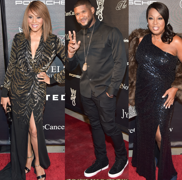 Deborah Cox, Usher, Star Jones