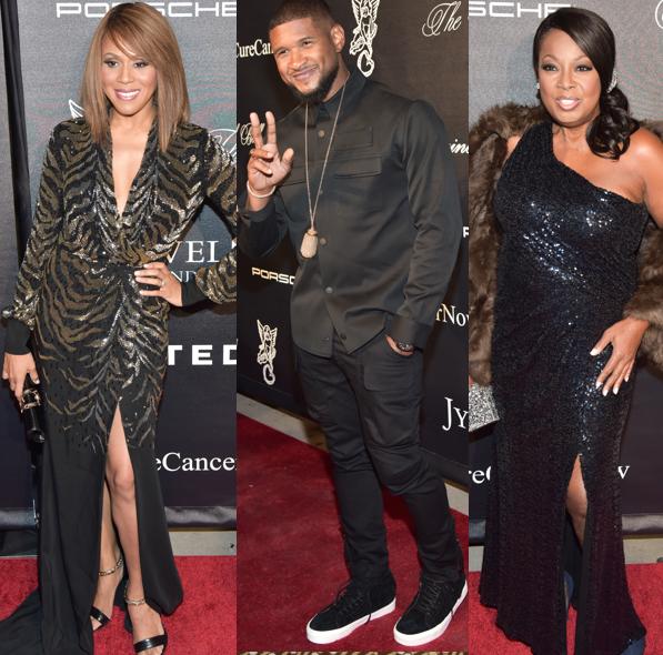 Usher, Patti Labelle, Star Jones, Nick Cannon, Deborah Cox Attend Angel Ball [Photos]