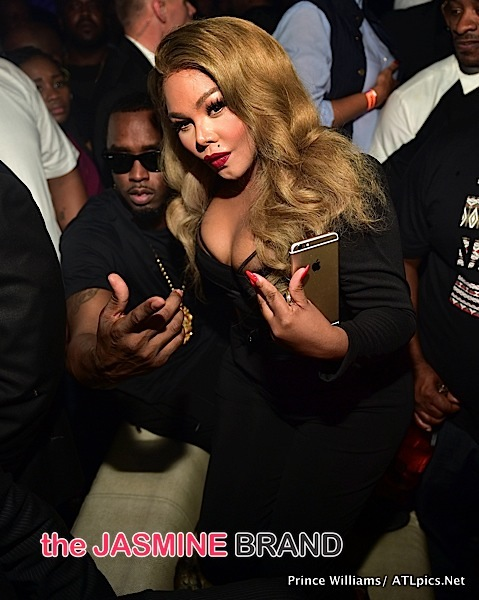 Lil Kim & Diddy Invade ATL's Prive [Photos]