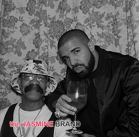 My Dad Is Cooler Than Yours! Drake & Father Stunt For Insta [Photos]