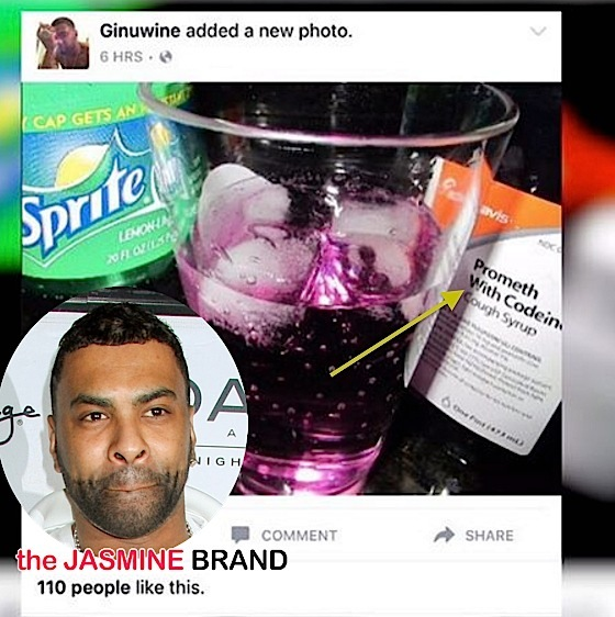 Singer Ginuwine Denies Sipping Lean, Abusing Drugs: I'm sorry my kids had to see this lie.