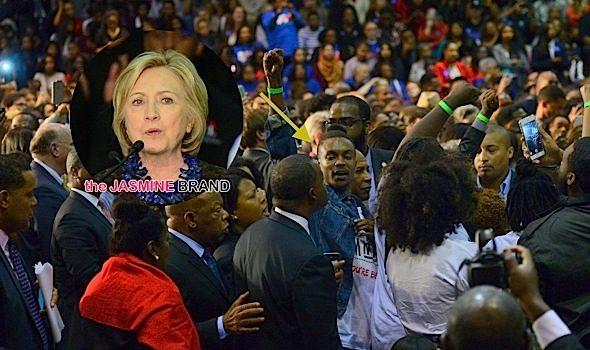 'Black Lives Matters' Protesters Interrupt Hillary Clinton's Speech At Clark Atlanta [VIDEO]