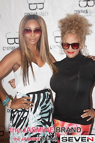 RHOA's Cynthia Bailey Hosts Eye Glass Trunk Show + Kim Fields, Kenya Moore, Porsha Williams, Kandi Burruss Attend [Photos]