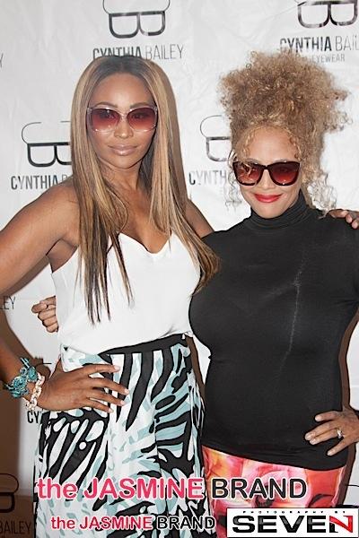 RHOA's Cynthia Bailey Hosts Eye Glass Trunk Show + Kim Fields, Kenya Moore, Porsha Williams, Kandi Burruss Attend [Photos]