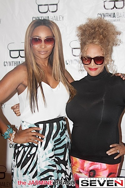 Cynthia Bailey, Kim Fields