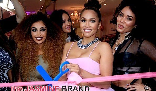 Rosa Acosta Celebrates Store Opening Of 'Cossamia' [Photos]