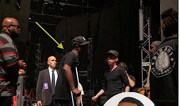 The Show Must Go On! An Injured Diddy Still Plans to Perform at Award Show [Photos]