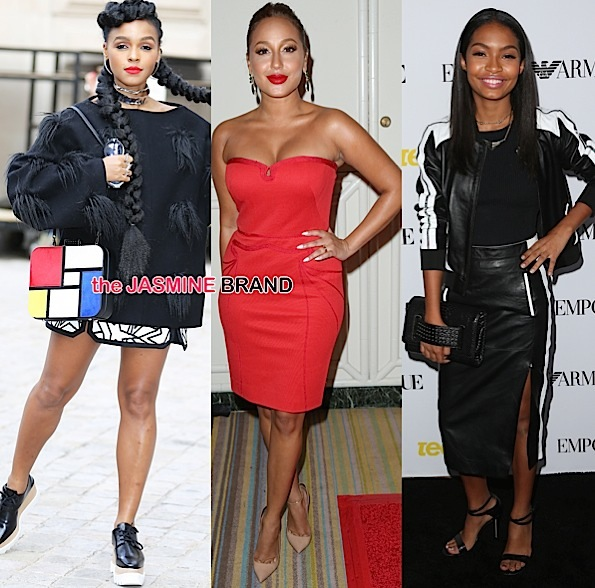 Janelle Monae Steps Out for PFW, Adrienne Bailon Hits Operation Smile, Yara Shahidi Hits Teen Vogue Bash + Tatyana Ali, Sharon Leal, Kat Graham