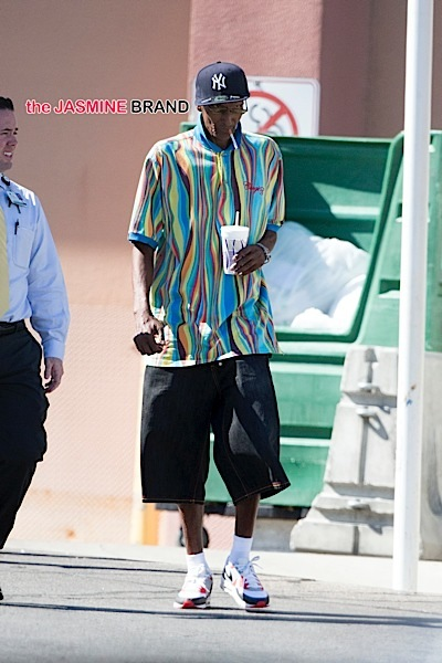 Joe Odom leaves the Sunrise Hospital in Las Vegas, NV after visiting his critically ill son Lamar.