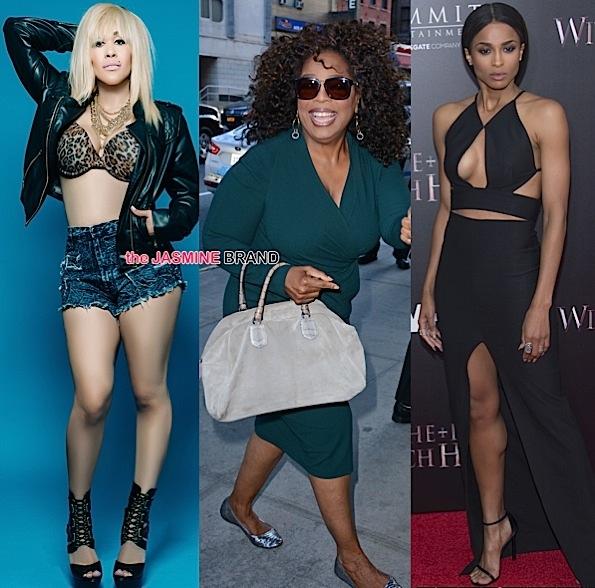 Celebrity Stalking: Oprah, Ciara, Vin Diesel, Keke Wyatt, Ava Dash, Bokeem Woodbine [Photos]