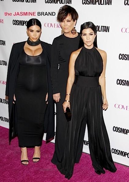 Kris Jenner, Kourtney Kardashian and Kim Kardashian