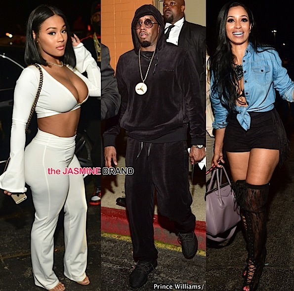 Diddy, Karlie Redd, Trey Songz, Lira Galore, Josline Hernandez Party in ATL [Photos]