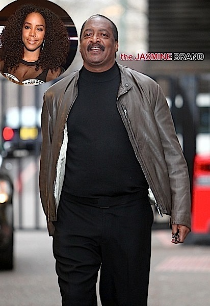 Mathew Knowles leaving the ITV studios, London.