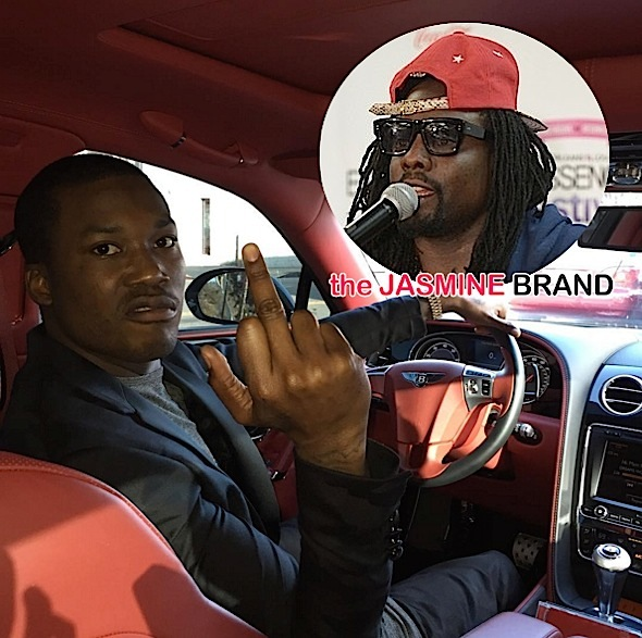 Meek Mill Slams Wale: You jealous, broke rapper! [VIDEO]