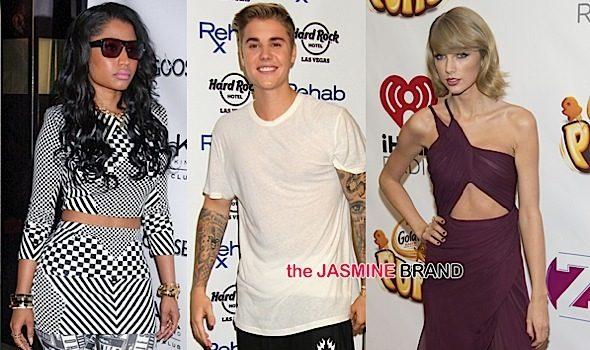 Justin Bieber, Nicki Minaj, Taylor Swift Win MTV EMA's + See Complete List
