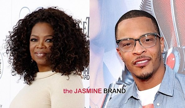 Oprah Reacts to T.I.'s Comments About A Woman President: Honey, hush your mouth.