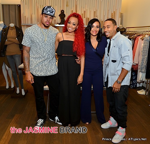 Shannon Brown, Monica, Eudoxie, Ludacris