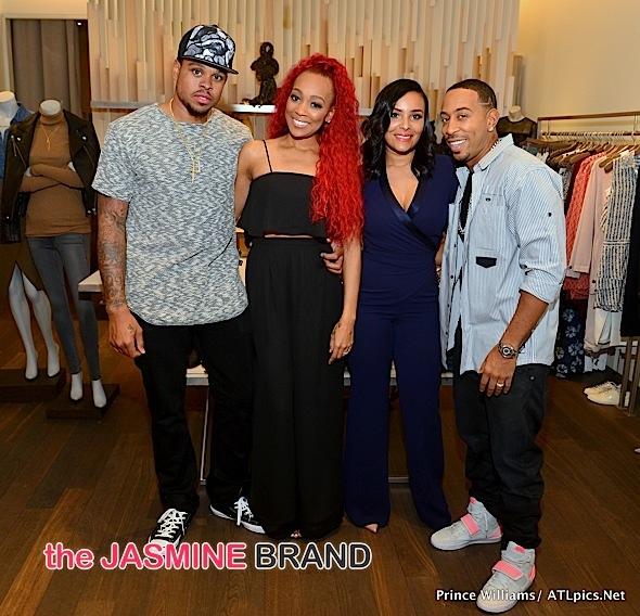 Shannon Brown, Monica, Eudoxie, Ludacris