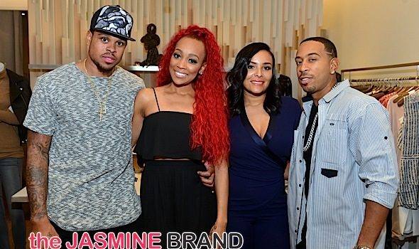 Ludacris' Wife Eudoxie Bridges Raises Funds For Domestic Violence + Larenz Tate, Monica, Shannon Brown, Monyetta Shaw Attend