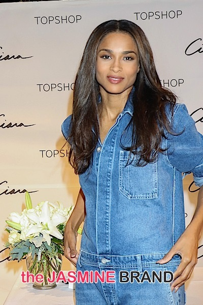 Ciara Appearance at Topshop at the Fashion Show Mall in Las Vegas on October 16, 2015