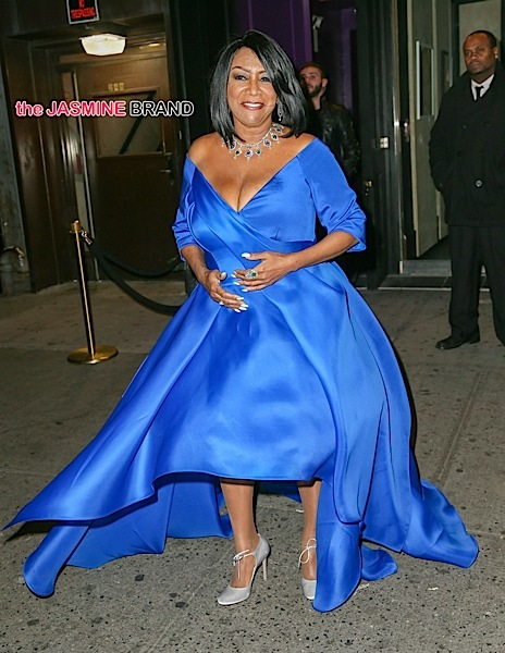INF - Patti LaBelle is seen exiting the 2015 Angel Ball after party at Up and Down night club in New York City.