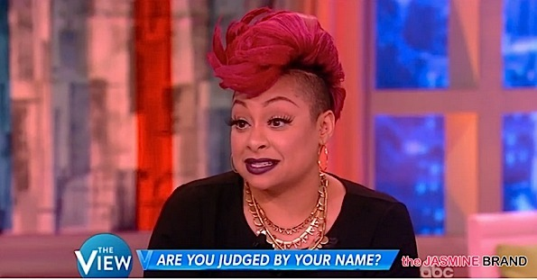 Raven Symone Criticized For Saying She Wouldn't Hire Someone Based Off Their Name