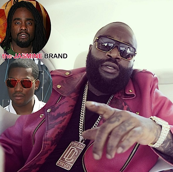 Rick Ross Says Beef With Wale & Meek Mill is Squashed [VIDEO]