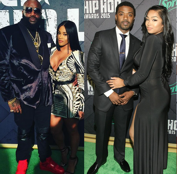 Rick Ross & Lira Galore, Ray J & Princess Love