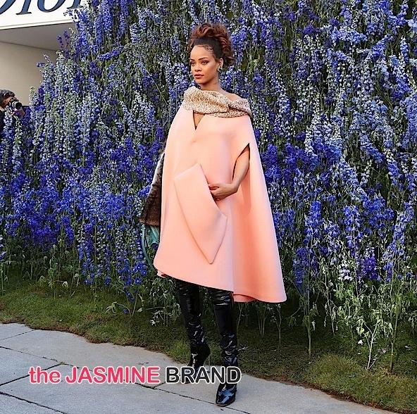 Rihanna-Dior Show PFW-the jasmine brand