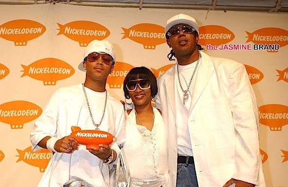 Lil' Romeo, Sonya Miller, Master P (circa 2005)