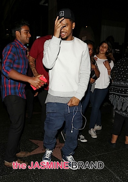 Trey Songz Swarmed By Fans At Hollywood's Katsuya [Spotted. Stalked. Scene.]
