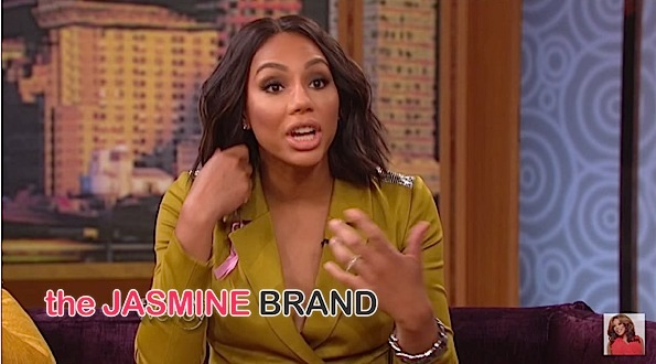 Tamar Braxton On: Social Media Haters, Why She's Not Having Another Baby + Her Son Being A Pre-School Drop Out!