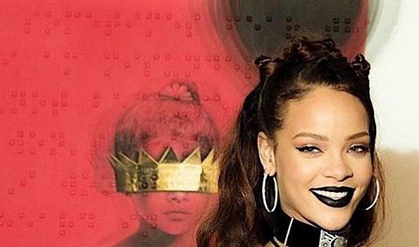 Rihanna Reveals New 'Anti' Album Cover Art [Photos]