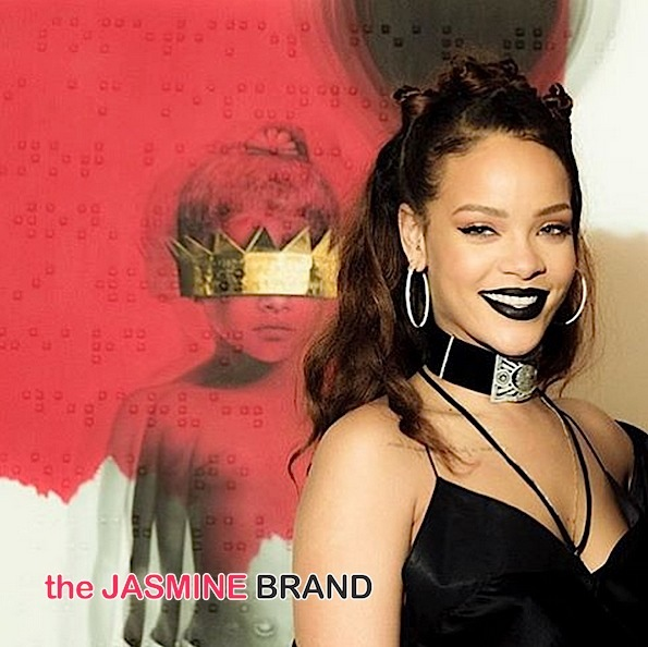 Rihanna Reveals New 'Anti' Album Cover Art [Photos]