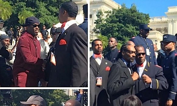 Celebs Support Million Man March: Diddy, Russell Simmons, Porsha Williams, J.Cole, Common, Yandy Smith, Phaedra Parks [Photos]