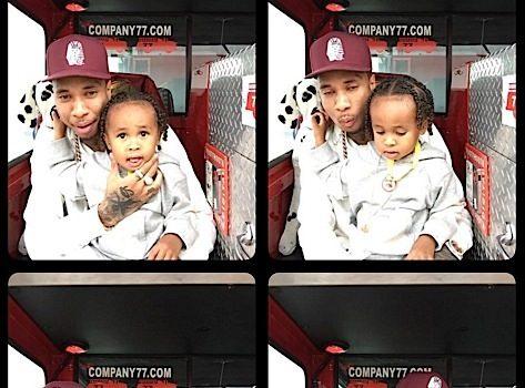 Look! Tyga & Blac Chyna's Son Celebrates 3rd Birthday [Photos]