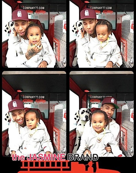 Look! Tyga & Blac Chyna's Son Celebrates 3rd Birthday [Photos]
