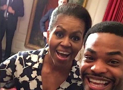 Ciara, Angela Simmons & King Bach Visit White House For 'Better Make Room' Campaign