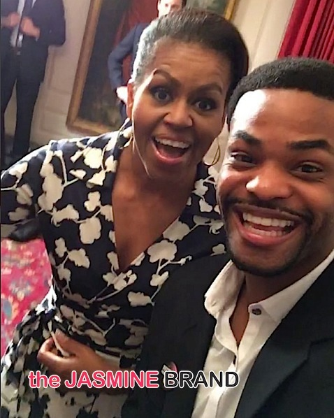 First Lady Michelle Obama, King Bach