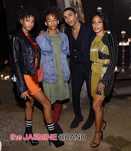 Kim Kardashian, Jada Pinkett-Smith, Tyga, Mary J. Blige, J.Lo Celebrate Olivier Rousteing's Birthday [Photos]