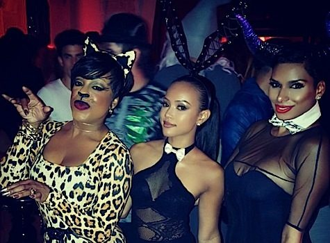 Celebs Invade Maxim's Halloween Party: Niecy Nash, Draya Michele, Claudia Jordan, Laura Govan, Karrueche Tran [Photos]