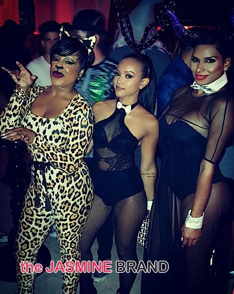 Celebs Invade Maxim's Halloween Party: Niecy Nash, Draya Michele, Claudia Jordan, Laura Govan, Karrueche Tran [Photos]