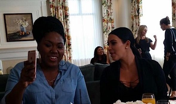 Kim Kardashian Flies Out Fans For Her Birthday [Photos]